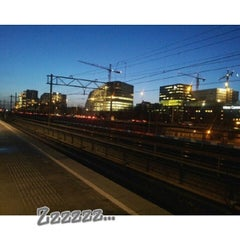 Photo taken at Metrostation Amstelveenseweg by Eva B. on 1/28/2014