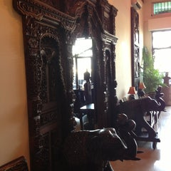 Photo taken at Bougainvillier Hotel by Sergey Z. on 12/31/2012