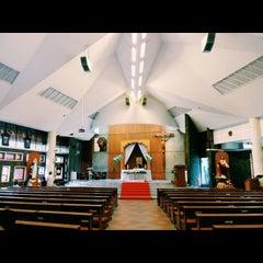 Photo taken at Gereja Katolik Santo Andreas by Reza A. on 2/6/2015