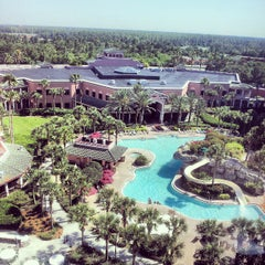 Photo taken at Caribe Royale All-Suite Hotel & Convention Center by Chrys B. on 5/14/2013