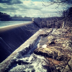 Photo taken at Croton Falls Dam by Max M. on 3/23/2013