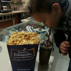 Photo taken at Cinépolis by Claudia G. on 2/4/2013