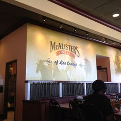 Photo taken at McAlister's Deli by Crystal G. on 10/18/2012