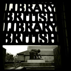 Photo taken at British Library by Mariana W. on 12/17/2012