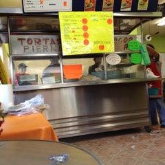 Photo taken at Tortas Erika by David G. on 10/20/2012