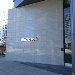 Photo taken at Microsoft/Bing HQ City Center Plaza by Jane P. on 3/29/2013