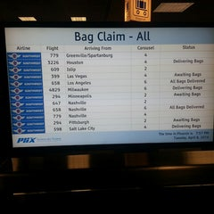 Photo taken at Baggage Claim 7 by Andrew D. on 4/9/2014
