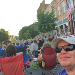 Photo taken at Music On The Square by Cody P. on 7/17/2015