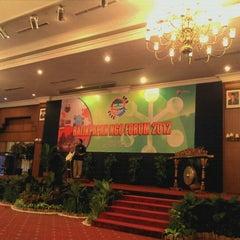 Photo taken at Gran Senyiur Hotel by mefta c. on 10/16/2012
