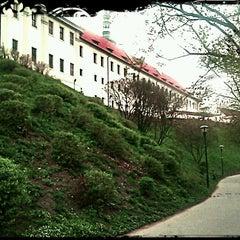 Photo taken at Velká strahovská zahrada by Ginger on 4/25/2013