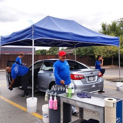Photo taken at Puddle Car Wash by Shawn C. on 9/29/2014