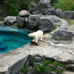 Photo taken at Zoo sauvage de Saint-Félicien by Walfroy S. on 7/20/2015