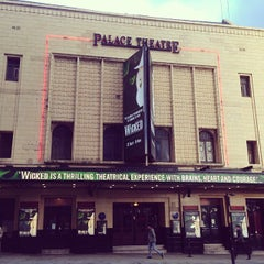 Photo taken at Palace Theatre by Amir A. on 10/24/2013