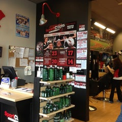 Photo taken at SportClips by ERIC Y. on 11/2/2012