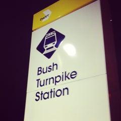 Photo taken at Bush Turnpike Station (DART Rail) by Robert P. on 10/16/2012
