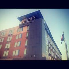 Photo taken at Aloft Tulsa by Robert P. on 10/20/2012