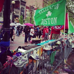 Photo taken at Copley Square by Steve G. on 5/11/2013