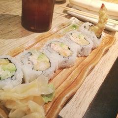 Photo taken at Musashi Restaurant by Jen V. on 4/17/2014