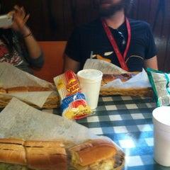 Photo taken at Super Submarine Sandwich Shop by Lauren F. on 8/21/2013