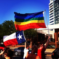 "Photo taken at Dallas ""Gayborhood"" by Emmanuel L. on 6/27/2013"
