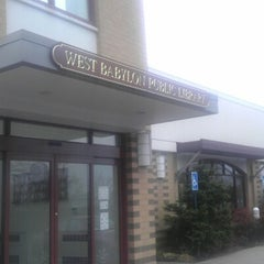 Photo taken at West Babylon Public Library by Diana Q. on 12/8/2012
