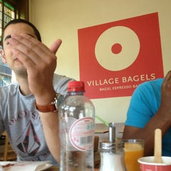 Photo taken at Village Bagels by Will M. on 7/7/2013
