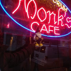 Photo taken at Monk's Cafe by David R. on 12/7/2012
