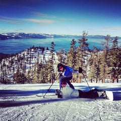 Photo taken at Heavenly Village by Tyler H. on 1/14/2013