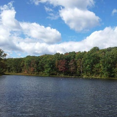 Photo taken at Nescopeck State Park by Kwan L. on 9/23/2012