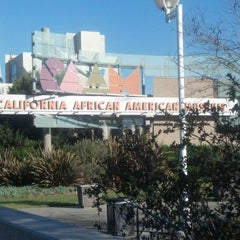 Photo taken at California African American Museum by Karreno on 12/15/2012