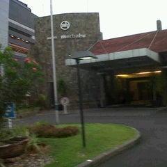 Photo taken at Hotel Merbabu by Siti Rohmah on 10/20/2012