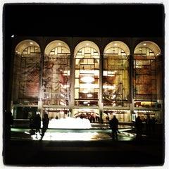 Photo taken at The Metropolitan Opera by Lori C. on 4/17/2013