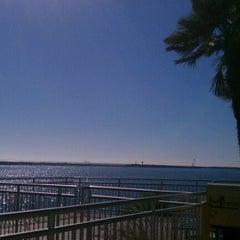 Photo taken at Marina Del Rey pier by Nosheen C. on 11/19/2012