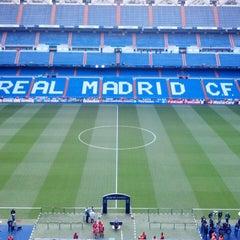 Photo taken at Estadio Santiago Bernabéu by Gonzalo F. on 4/30/2013