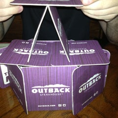 Photo taken at Outback Steakhouse by John A R. on 10/6/2012