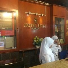 Photo taken at Hotel UiTM Dungun by Aizat R. on 11/22/2014