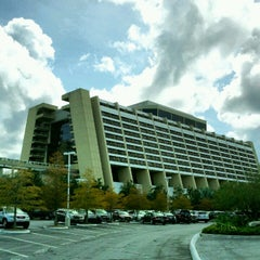Photo taken at Disney's Contemporary Resort by Brent on 9/29/2012