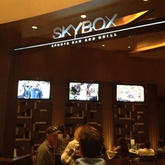 Photo taken at Skybox Sports Bar & Grill by Kerry on 12/9/2012
