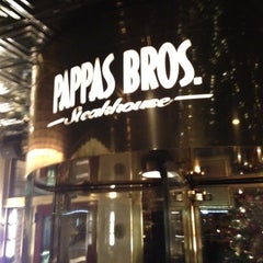 Photo taken at Pappas Bros. Steakhouse by Kerry on 12/19/2012