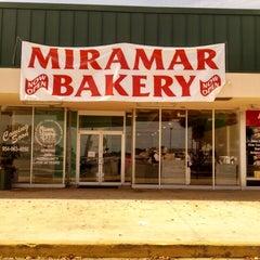Photo taken at Miramar Bakery by Liana M. on 3/30/2014