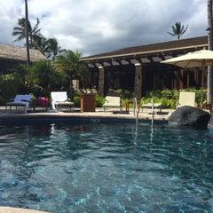 Photo taken at Ko'a Kea Hotel & Resort by Error404 H. on 10/6/2015