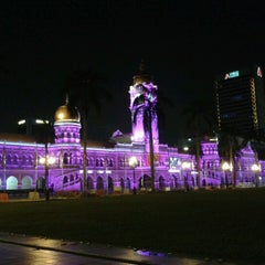 Photo taken at Independence Square (Dataran Merdeka) by Hns F. on 10/28/2012