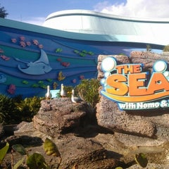 Photo taken at The Seas with Nemo & Friends by Tomohisa I. on 11/30/2012