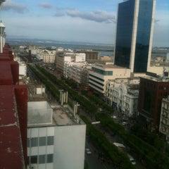 Photo taken at El Hana International Hotel Tunis by Oueslati A. on 4/22/2013