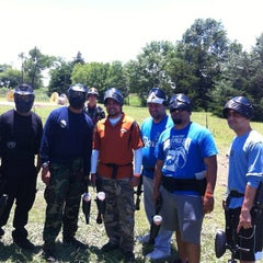 Photo taken at Official Paintball by Eric F. on 6/9/2013