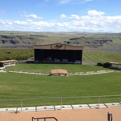 Photo taken at Maryhill Winery & Amphitheater by Emee P. on 4/26/2014