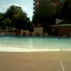 Photo taken at River Place Pool by Lukas Z. on 6/22/2014