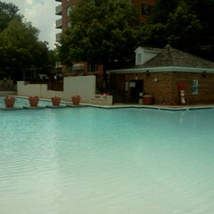 Photo taken at River Place Pool by Lukas Z. on 6/9/2014
