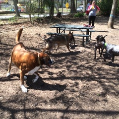Photo taken at Oakhurst Dog Park by Ed A. on 4/5/2015