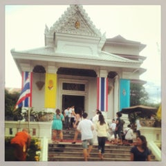 Photo taken at Rama IX Golden Jubilee Temple by NorTop S. on 7/22/2013